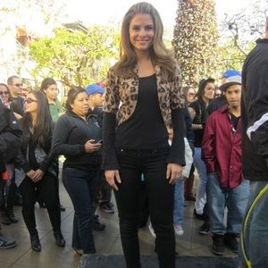 Banana Republic Leopard Shrug Size S